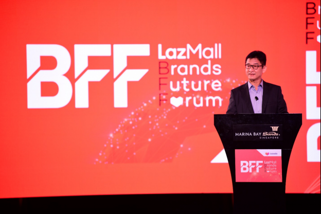 Lazada's LazMall Brands Future Forum (BFF) 2021  Quick facts or stats mentioned within the speeches